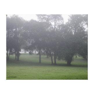 Toile Matin en parc Nashville Tennessee de Mousse-Wright