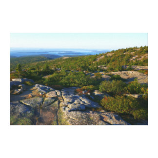 Toile Matin placé sur la montagne de Cadillac à l'Acadia