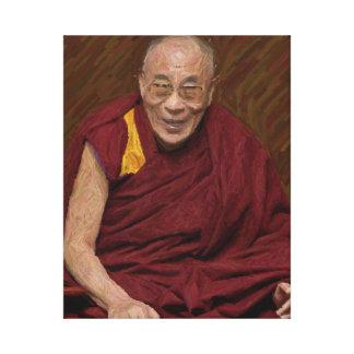 Toile Méditation bouddhiste Yog de bouddhisme de Dalai