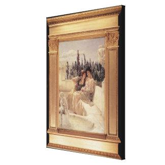 Toile Midi de chuchotement d'Alma-Tadema |, 1896