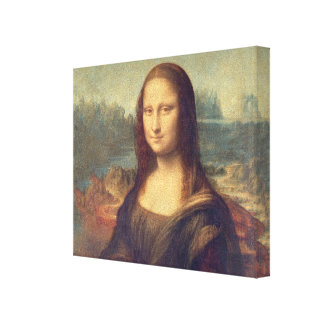 Toile Mona Lisa par Leonardo da Vinci