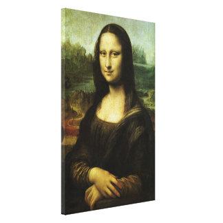 Toile Mona Lisa par Leonardo da Vinci, art de
