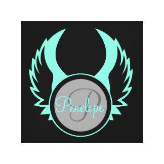 Toile Monogramme à ailes
