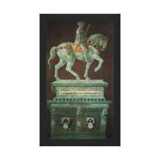 Toile Monument équestre à monsieur John Hawkwood,