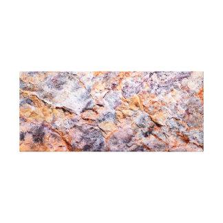 Toile Mosaïque de roche