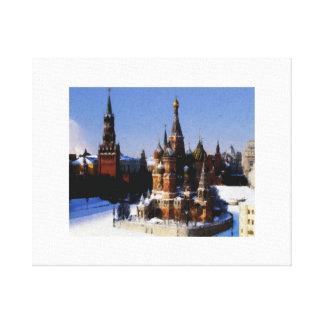 Toile Moscou de St Basil
