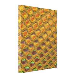 Toile motif abstrait de gaufre de sucrerie d'amusement