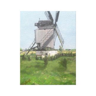 Toile Moulin à vent de Dunkerque, France