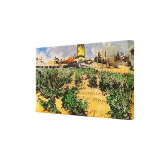 Toile Moulin à vent de Van Gogh d'Alphonse Daudet,