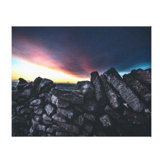 Toile Mur en pierre de la photographie | de nature