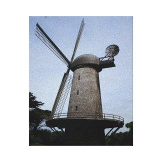 Toile néerlandaise de moulin à vent de San
