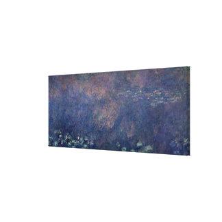 Toile Nénuphars de Claude Monet | : Centre de saules