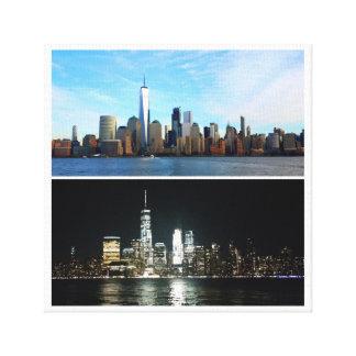 Toile New York jour et nuit