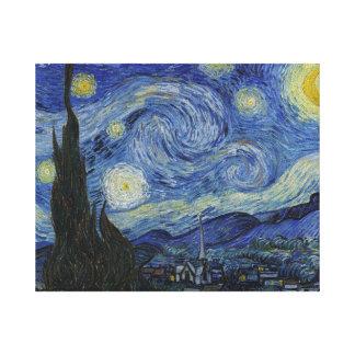 Toile Nuit étoilée par Vincent van Gogh