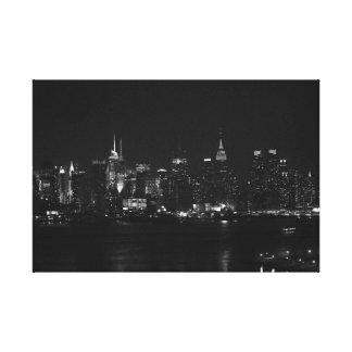 Toile NYC noir et blanc