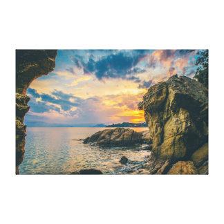 Toile Océan de la mer | du ciel | de la roche |