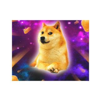 Toile pain - doge - shibe - l'espace - wouah doge