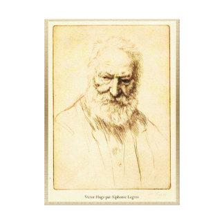 Toile Pair Alphonse Legros de Victor Hugo