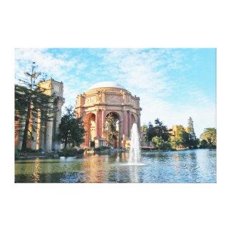 Toile Palais des beaux-arts - San Francisco