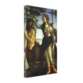 Toile Pallas et le centaure par Sandro Botticelli