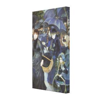 Toile Parapluies par Pierre Renoir, impressionisme