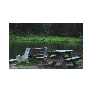 Toile Parc Waterscape