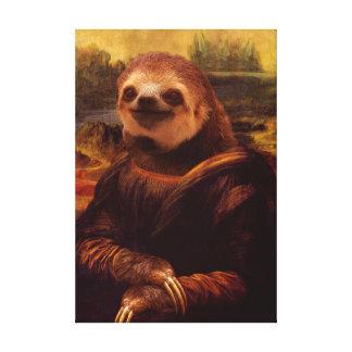 Toile Paresse de Mona Lisa