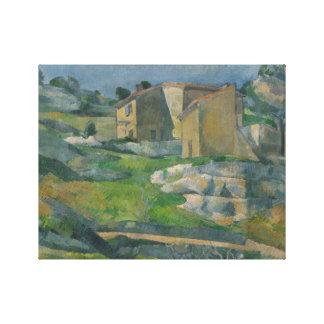 Toile Paul Cezanne - Chambres en Provence