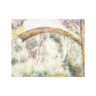 Toile Paul Cezanne - le pont de Trois-Sautets
