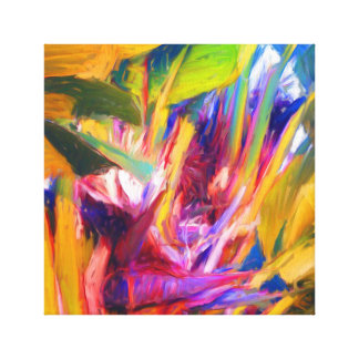 Toile Paume peignant 03