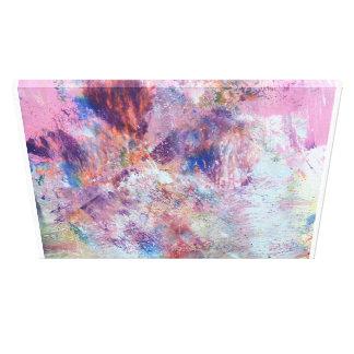 Toile Peinture abstraite colorée