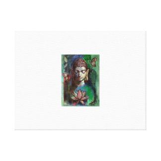 Toile Peinture de Bouddha