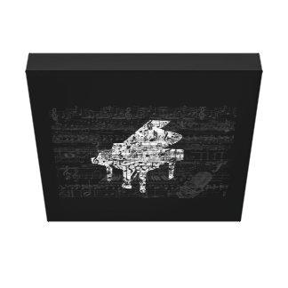 Toile piano