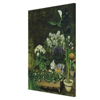 Toile Pierre fleurs de Renoir un | en serre chaude