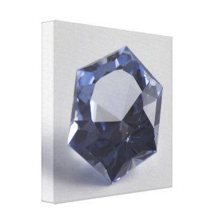 Toile Pierre gemme 1