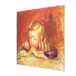 Toile Pierre un Coco de Renoir | au Tableau