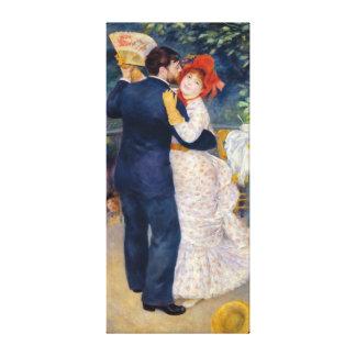Toile Pierre un Renoir   une danse dans le pays