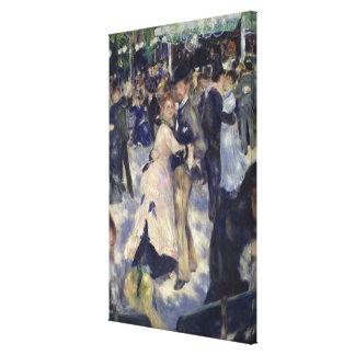Toile Pierre une La Galette de Renoir | Le Moulin de