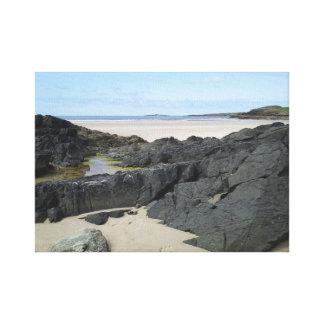 Toile Piscine de roche dans le Donegal Irlande