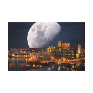Toile Pittsburgh planant