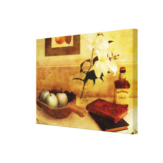 Toile Pommes et poires dans un couloir