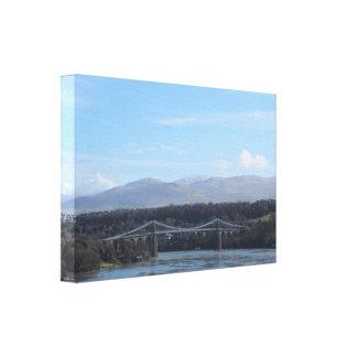 Toile Pont de détroit de Menai - Anglesey/Pays de Galles