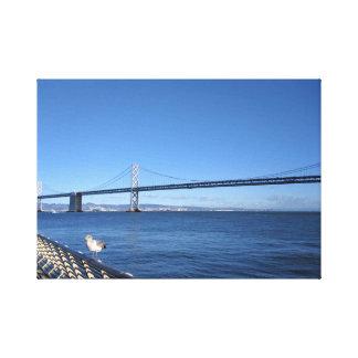Toile Pont en Baie de San Franciso