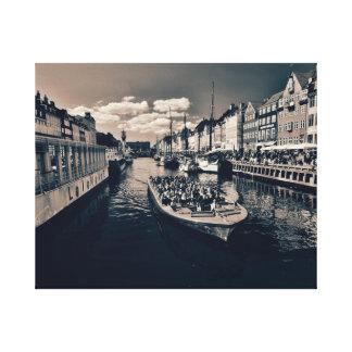 Toile Port de Copenhague