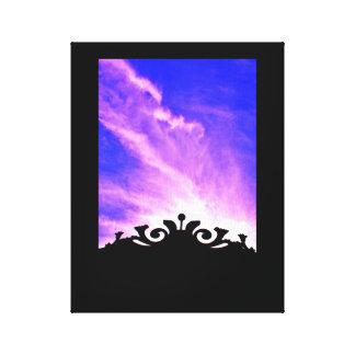 Toile Porte de coucher du soleil