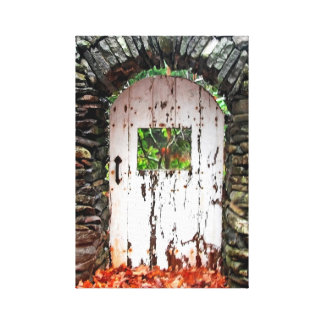Toile Porte de forêt, montagne de chasseur
