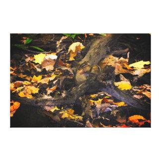 Toile Portrait de faune d'automne