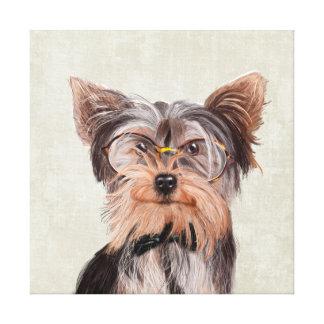 Toile Portrait de M. Yorkshire Terrier