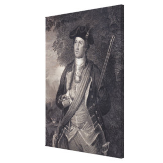 Toile Portrait vintage de George Washington