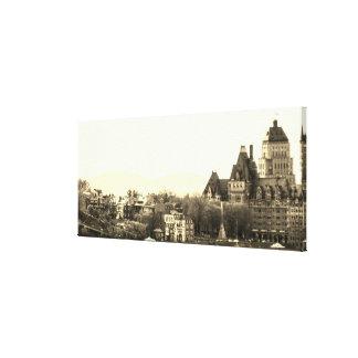 Toile Québec vintage